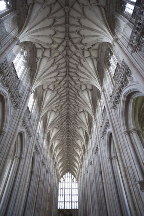 England, Hampshire, Winchester, Winchester Cathedral, The Nave