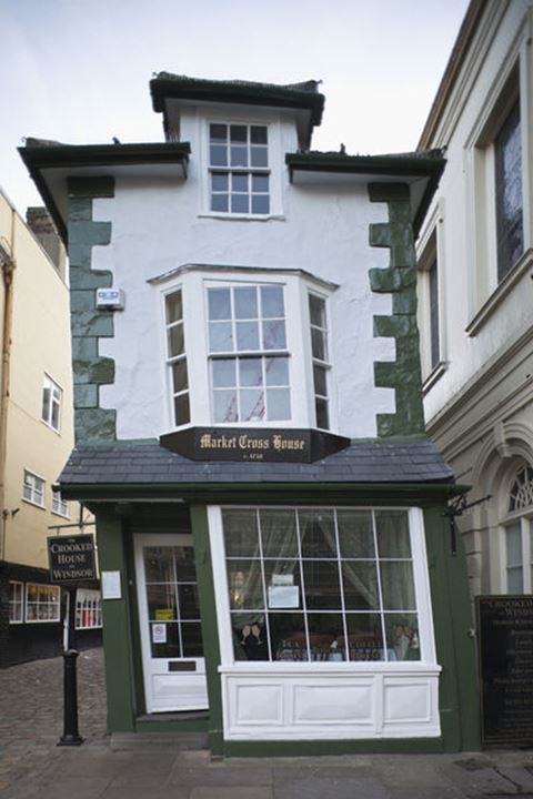 England, Berkshire, Windsor, The Crooked House Tea Shop