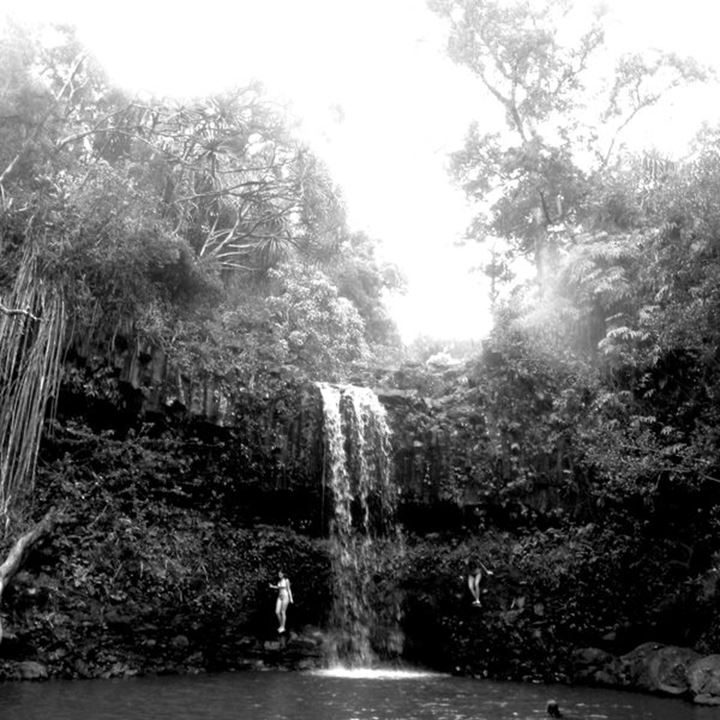 Images of Maui processed in B&W