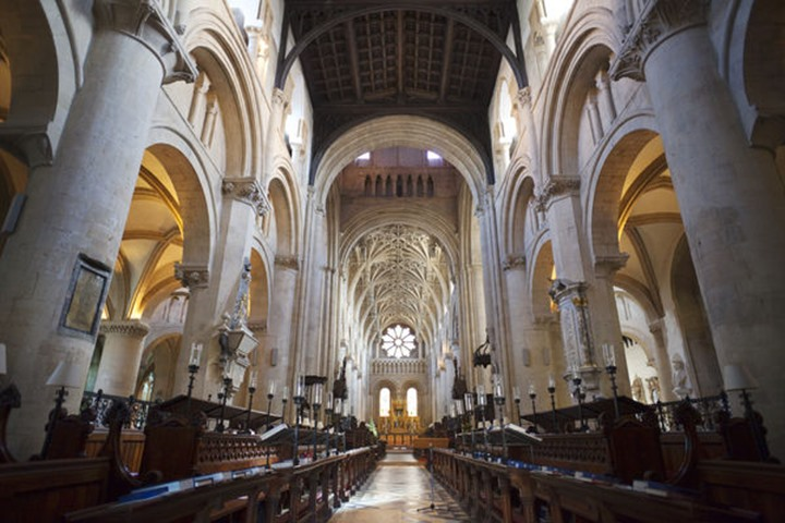 England, Oxfordshire, Oxford, Christ Church College Cathedral