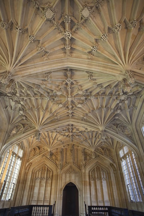 England, Oxfordshire, Oxford, Bodleian Library, The Divinity School