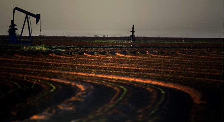 Agriculture and oil in the Texas Panhandle.