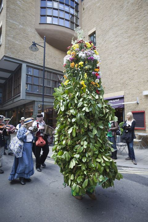 England, London, Southwark, Jack-in-the-Green Parade