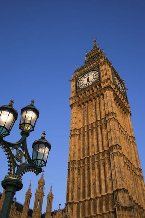 England, London, Palace of Westminster, Big Ben