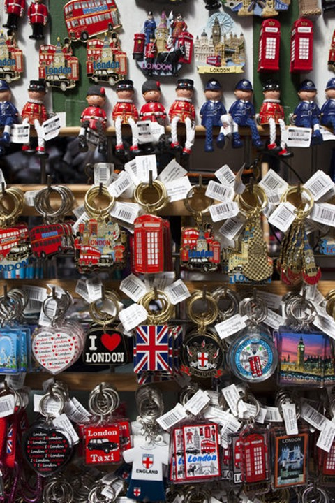 England, London, Souvenirs