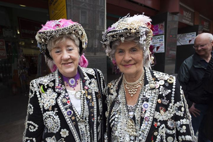 England, London, Pearly Queens
