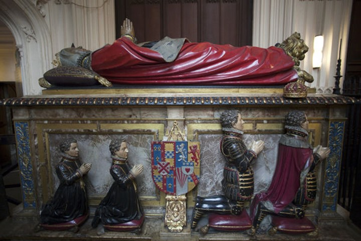 England, London, Westminster Abbey, Henry VII's Lady Chapel, Tomb of Margaret Countess of Lennox