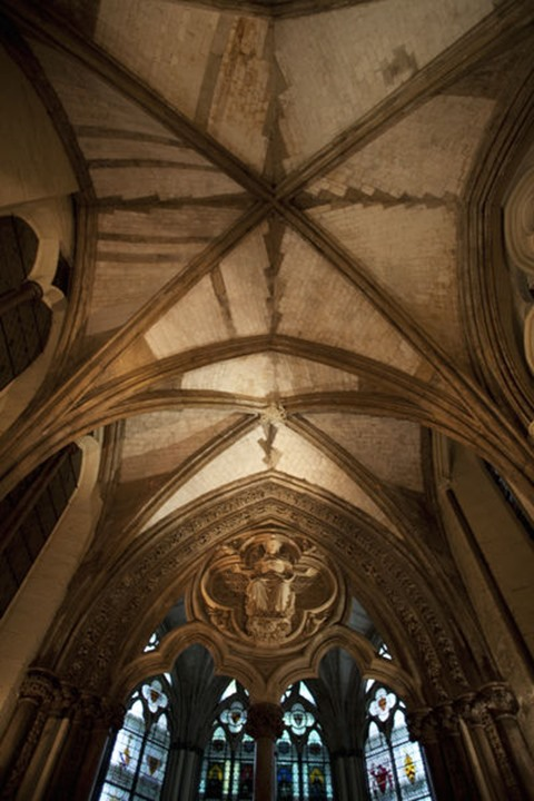 England, London, Westminster Abbey, The Cloisters