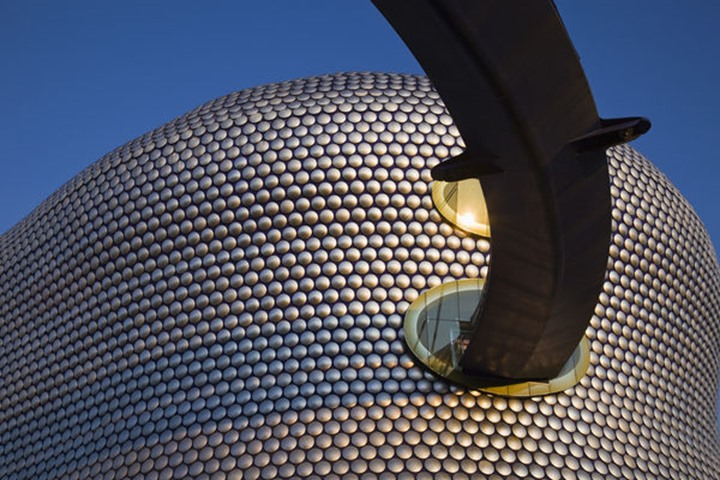 England, Birmingham, Selfridges Department Store at the Bullring Shopping Mall, designed by Future Systems