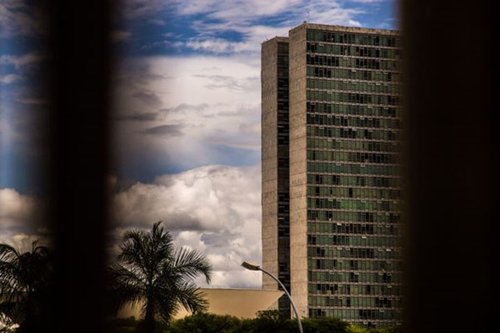 Government building in Brasilia