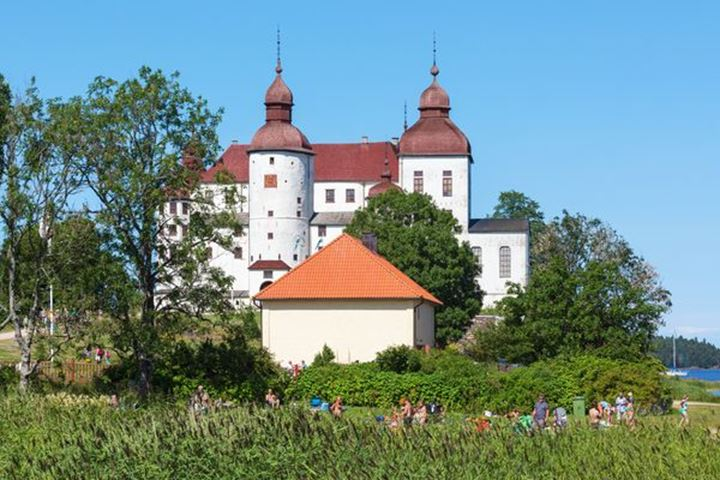 Lacko castle, medieval castle in Sweden
