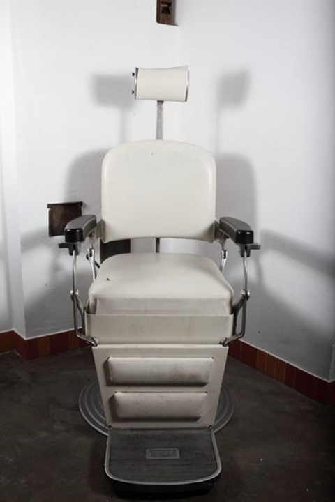 Old dentist chair, Sweden.