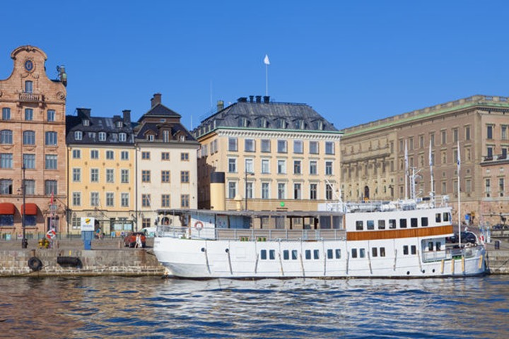 Sweden, Stockholm - The Old Town.