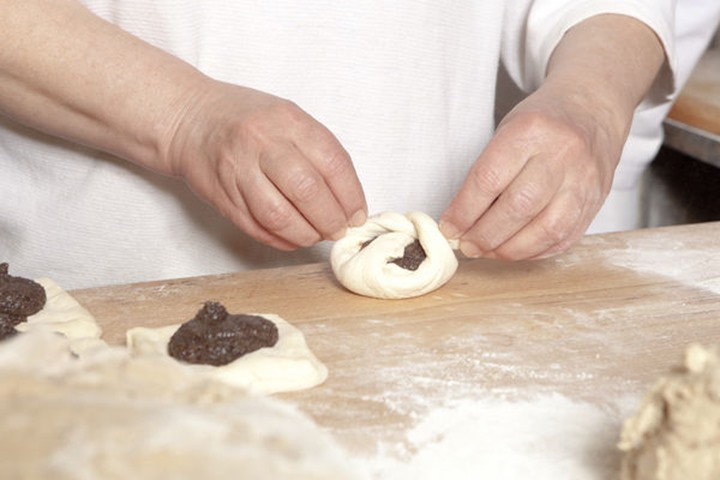 Professional Bakery - Baker Making Sweet Pastry