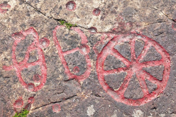 Rock carvings from the Bronze Age