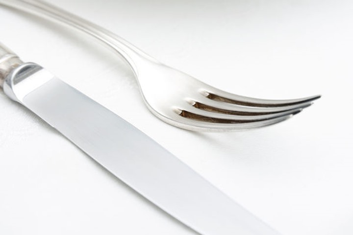 Elegant Table Setting with Silverware