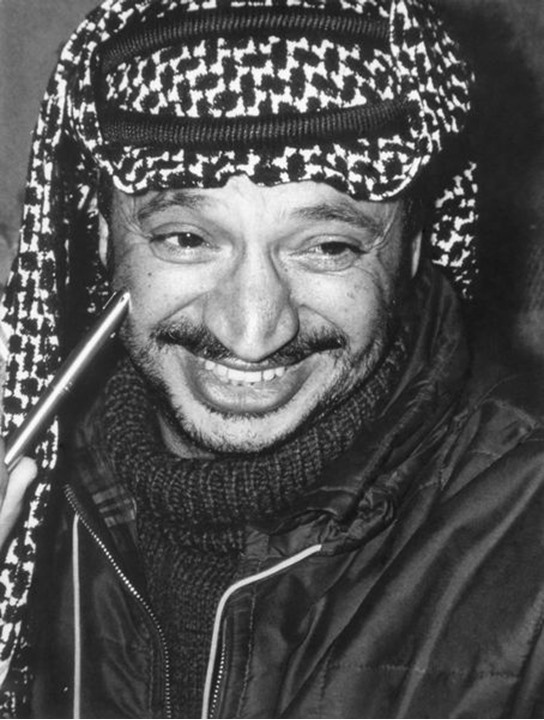 Yasser Arafat, Chairman of the Palestine Liberation Organization (PLO), in 1969.