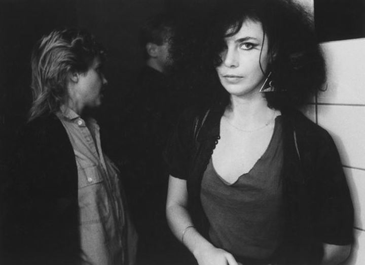 Young people at club. Stockholm. Sweden. 1980s