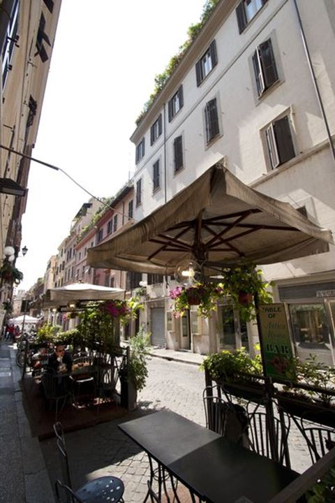 Outdoor cafe, Rome, Italy