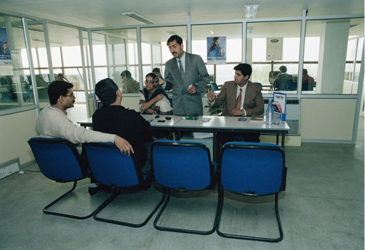 Office in Punjab India 1996