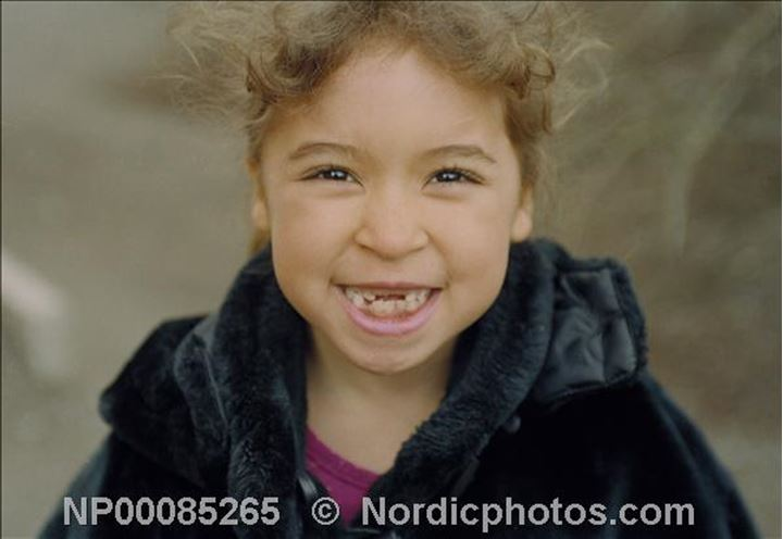 Olivia, 6 years old in Stockholm
