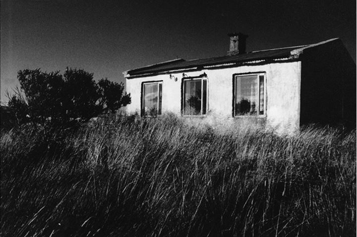 Iceland - Abandoned house in a field