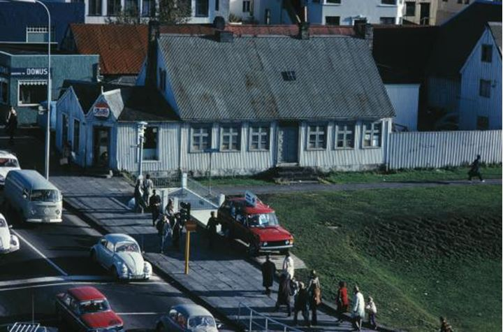 Somewhere in Reykjavik in the 60's or the 70's