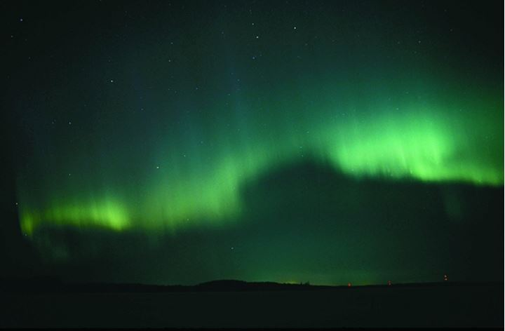 Finland, Lapland -  Northern Light, Aurora Borealis in the sky