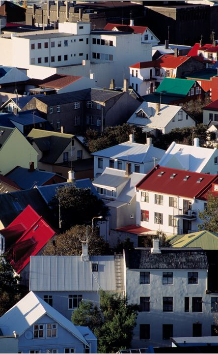 Looking over some houses in Reykjavik