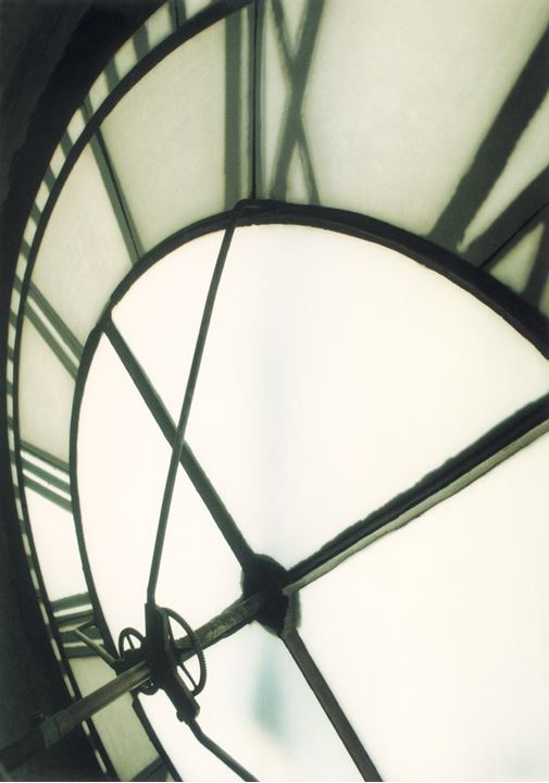 A clock on a tower in Malmo