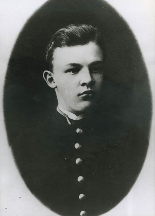 Studio portrait of young Vladimir Lenin