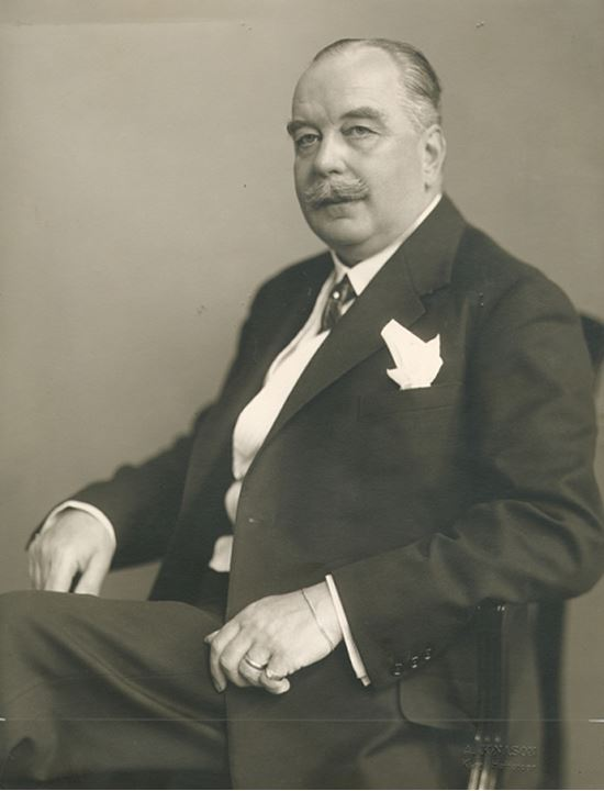 Portrait of Axel Ekman