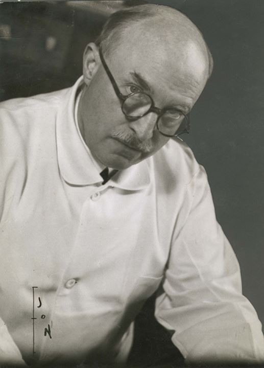 Portrait of Professor Gunnar Holmgren