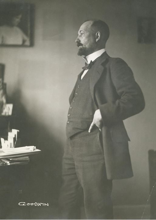 Portrait of Carl Laurin