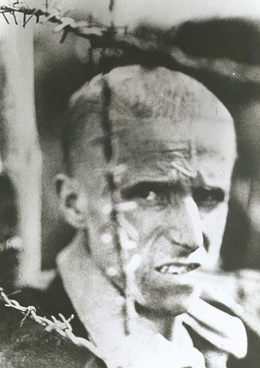 A victim of the nazi concentration camps