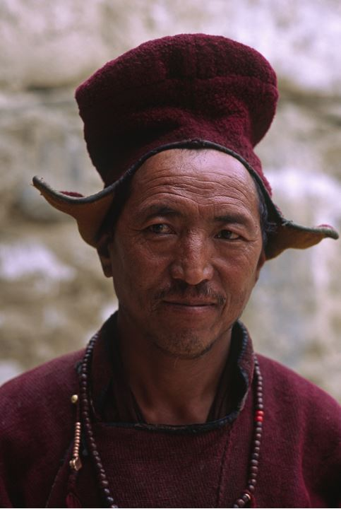 Man dressed in a traditional costume