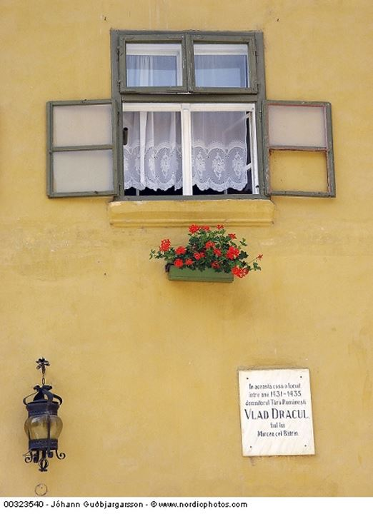 House where Vlad Dracul lived