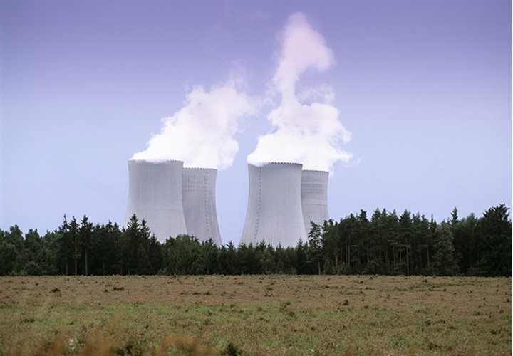 Czech republic - Temelin nuclear power station