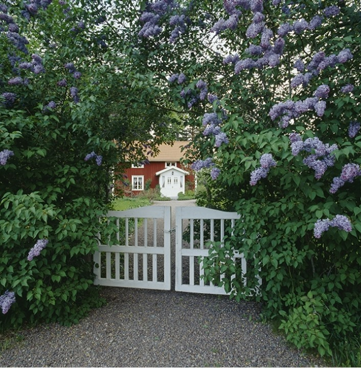 A gate by a house in Smaland, Sweden