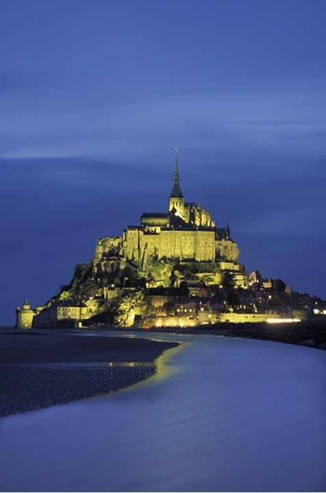 Mont Saint-Michel. France