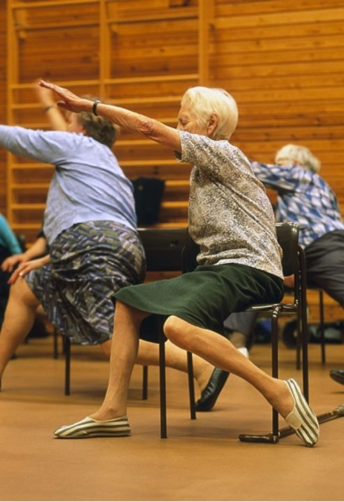 Seniors exercising - Stockholm, Sweden