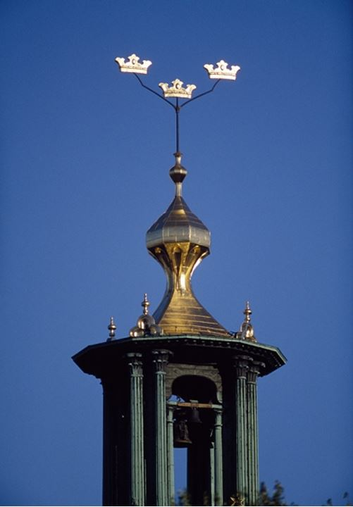 The top of Stockholm City Hall
