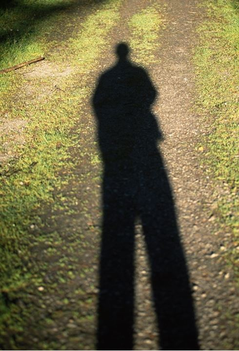 Shadow of a person