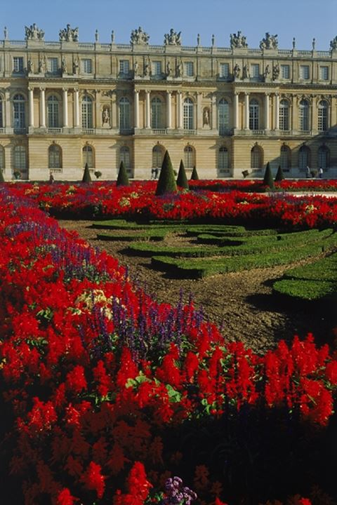 Gardens at Palace of Versailles near Paris