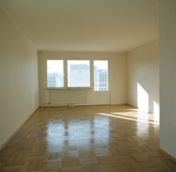 Interiors of an empty living room