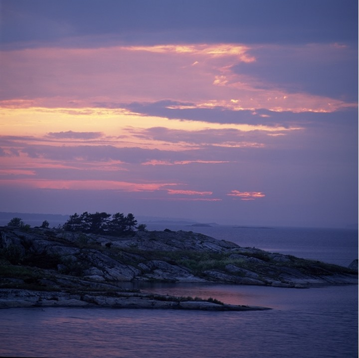 Island in the sea, Stockholm, Sweden