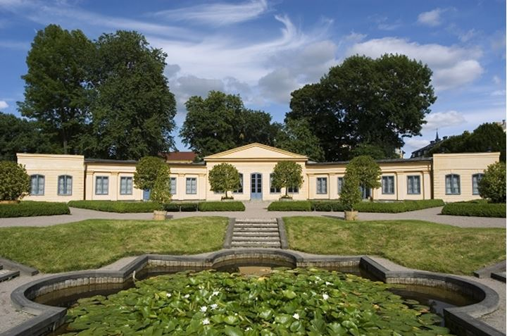 The garden of Linne in Uppsala, Sweden
