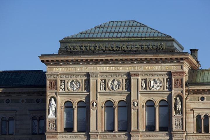 Facade of the National Museum of Sweden