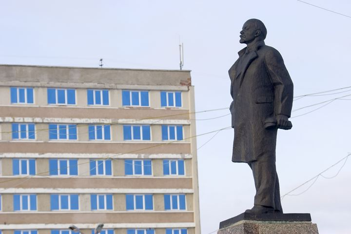 Statue of Lenin in Russia