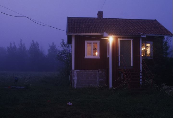 A house in a rural area